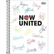 Caderno TILIBRA Universitário Now United 10mat.