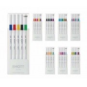 Caneta UNI Emott Fine Pen 0.4mm 5un.