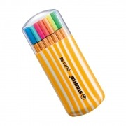 Estojo Caneta STABILO Pen 88 15un. + 5 neon