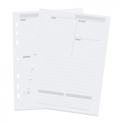 Refil ÓTIMA Planner Agenda Permanente A5