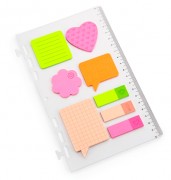 Régua ÓTIMA Sticky Notes G