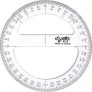 Transferidor De Acrílico Trident 10cm/360° 8310