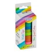 Washi Tape BRW Slim Fresh Colors 10un