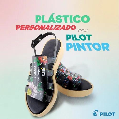 6 Canetas Marcador Pilot Pintor F1.4 - Cores Metálicas