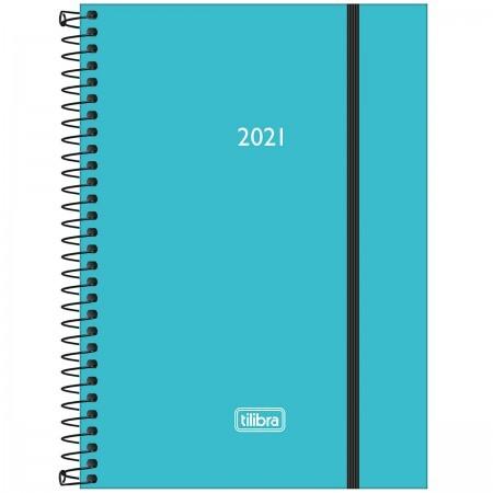Agenda TILIBRA Espiral Diária Neon 2021