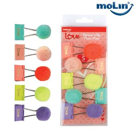 Binder MOLIN Pom Pom 5un.