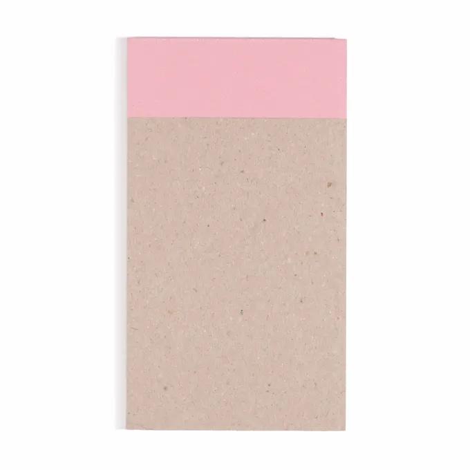 Bloco de Anotações CICERO Verão 10,5x18 Flamingo - Quadriculado