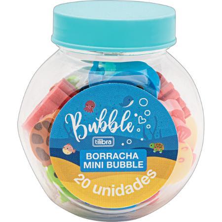 Borracha TILIBRA Mini Bubble Pote 20un.