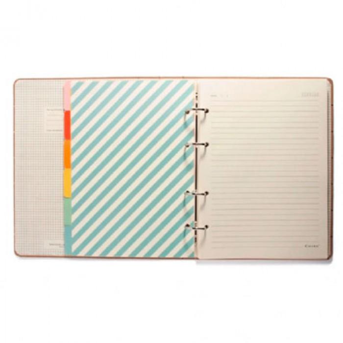 Caderno CICERO Criativo Argolado Pautado 17X24