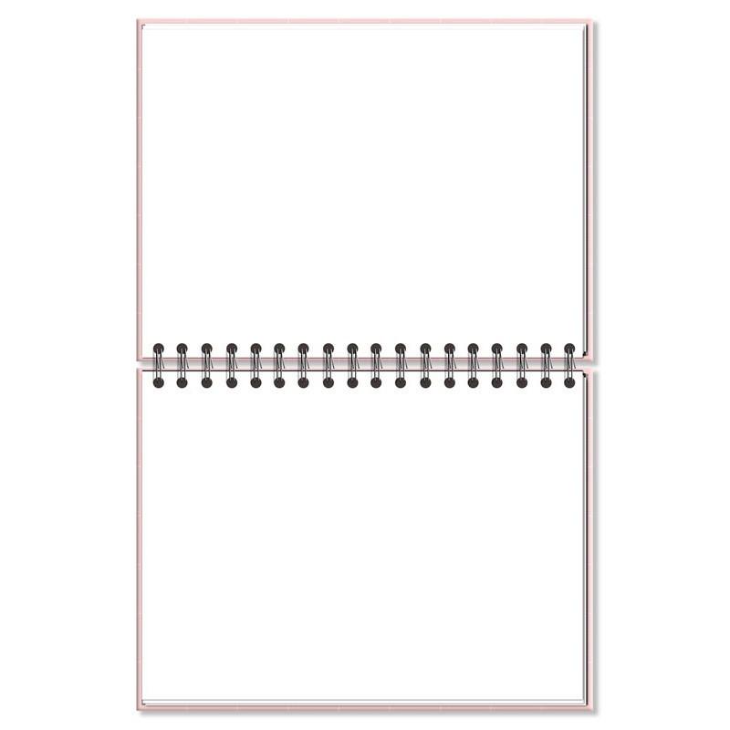 Caderno de lettering FINA IDEIA Rosa