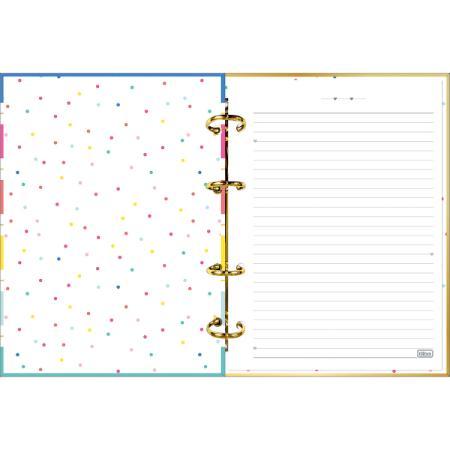Caderno TILIBRA Argolado Cartonado Be Nice 160fls