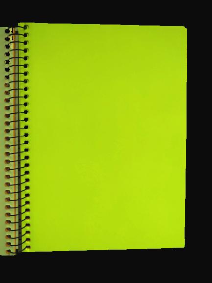 Caderno TILIBRA Espiral Colegial Neon Kori 80fls