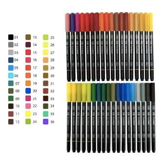 Caneta CIS Brush Pen Dual Aquarelável 1un.