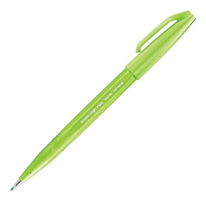 Caneta PENTEL Brush Pen Touch Sign 1un. - Novas Cores