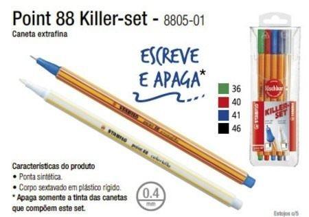 Caneta STABILO Killer Set Pen 88 5un