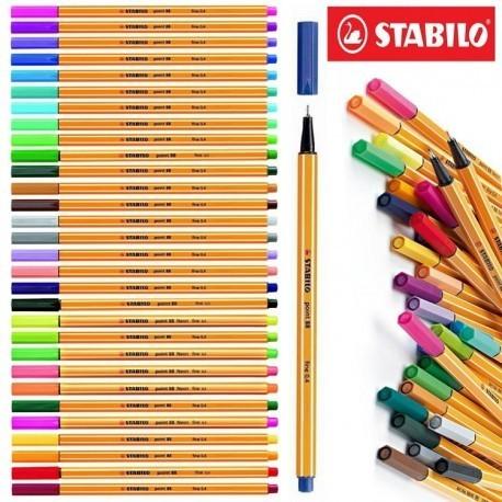 Caneta STABILO Point 88 Fine 0.4mm 1un.