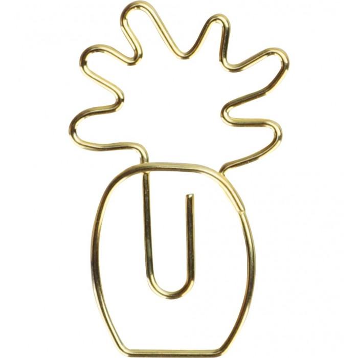 Clips MOLIN Abacaxi Dourado 25mm  12un.