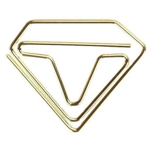 Clips MOLIN Diamante Dourado 25mm 12un.