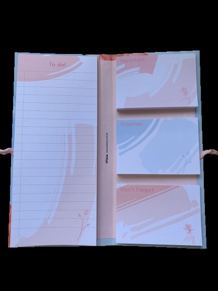 Conjunto ÓTIMA Sticky Notes 04 Laço La Bela