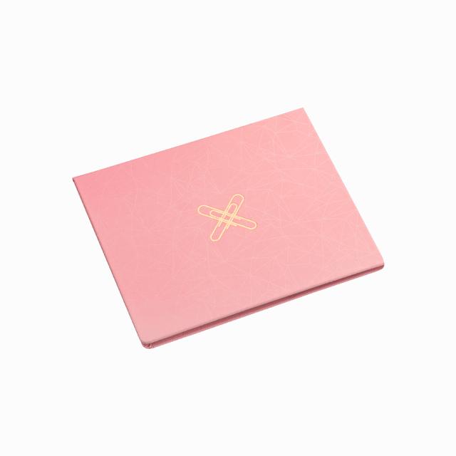 Conjunto ÓTIMA Sticky Notes 07 Pink Stone Geométrico