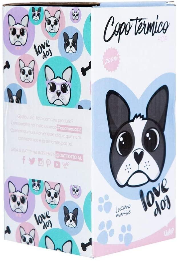 Copo UATT Térmico Pop - Bulldog Love