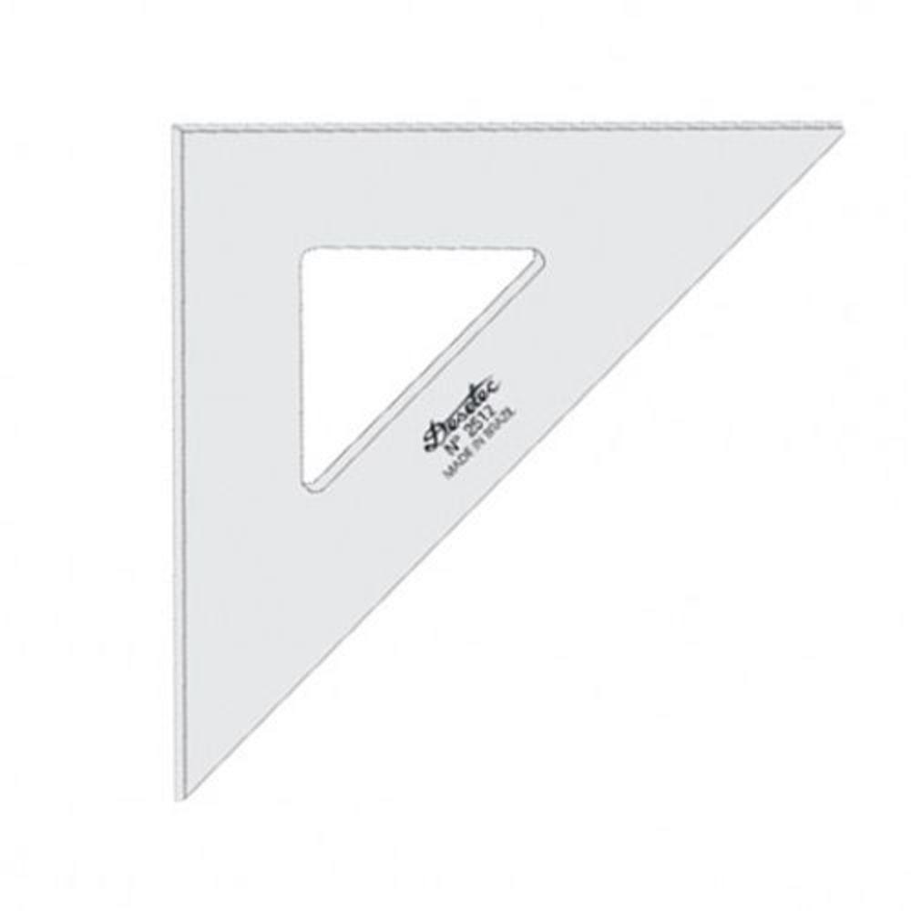 Esquadro Acrilico 2m/M 45 28cm Ref 2528 - Trident