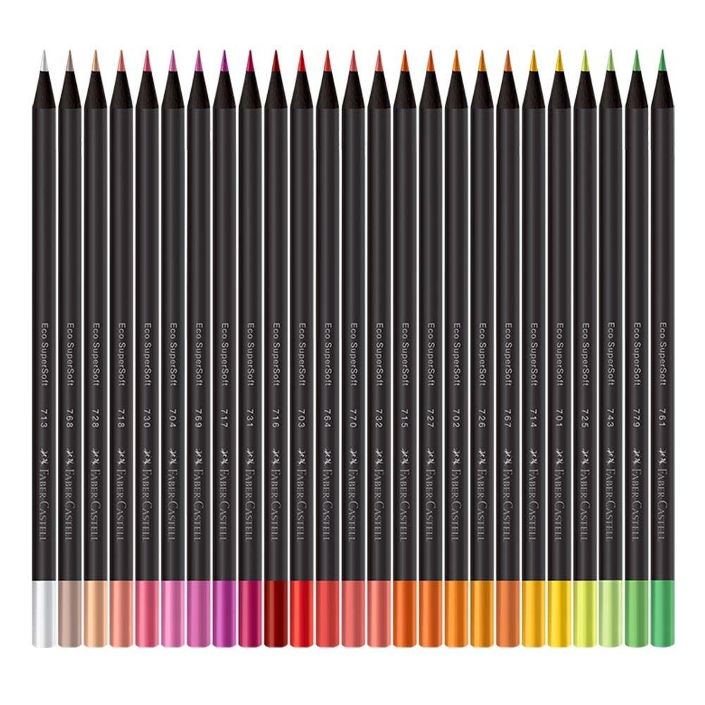Lápis de Cor FABER CASTEL SuperSoft 100 un.