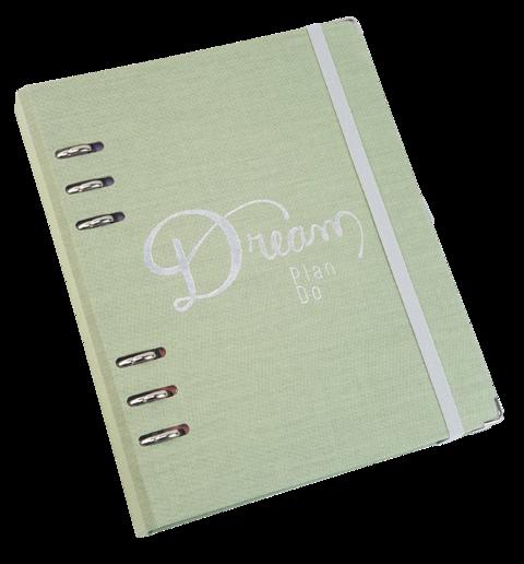 Planner ÓTIMA A5 Cotton com caixa premium