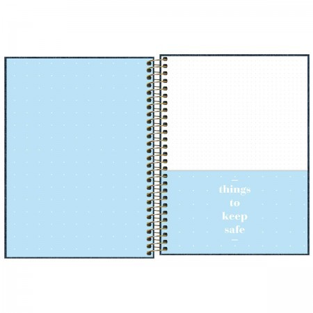 Planner TILIBRA Espiral Cambridge Denim 2021