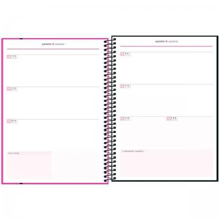 Planner TILIBRA Espiral Neon 20X27,5  2021