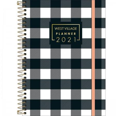 Planner TILIBRA Espiral West Village 18x24cm  2021