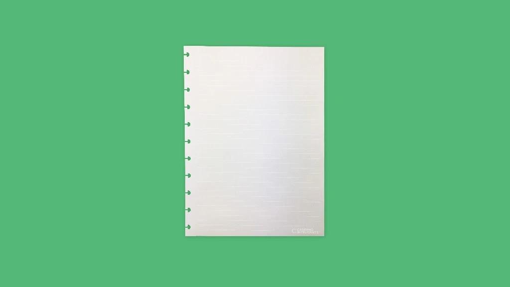 Refil CADERNO INTELIGENTE Médio White Lines 1un.
