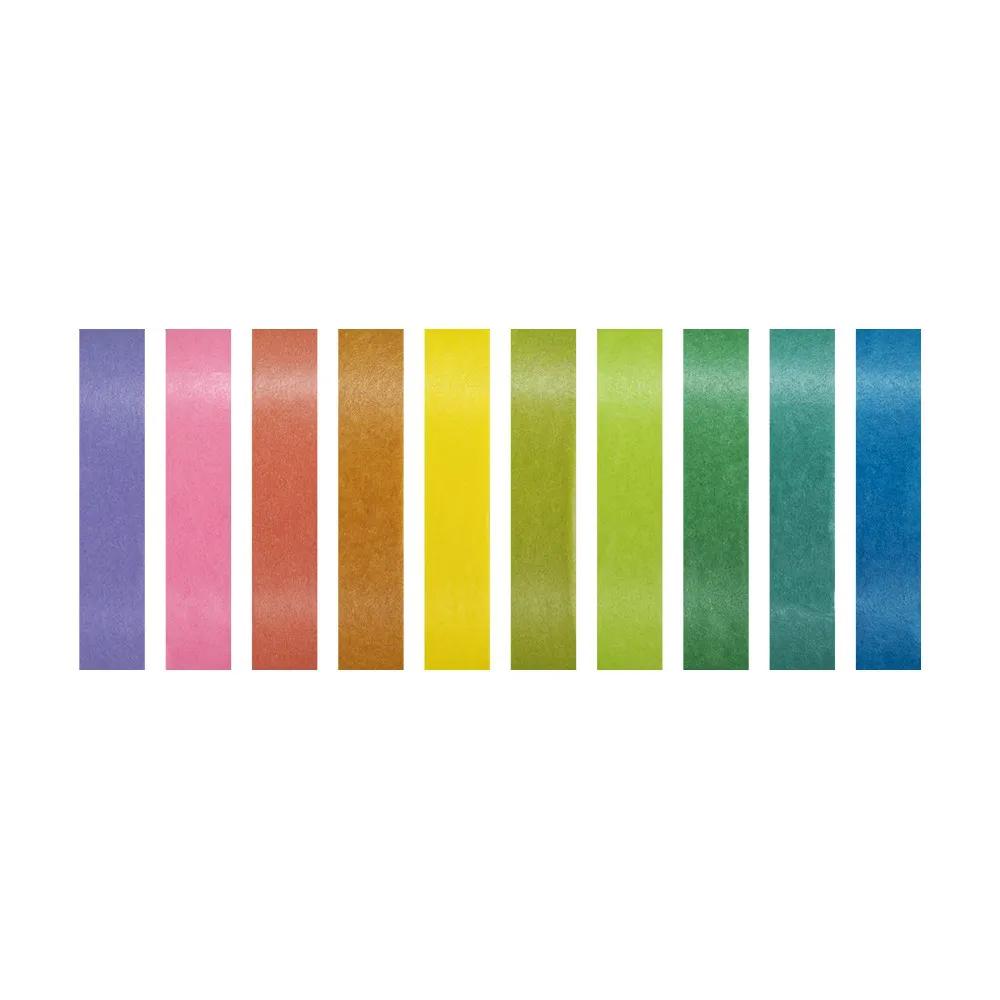 Washi Tape BRW Slim Fresh Colors 10un