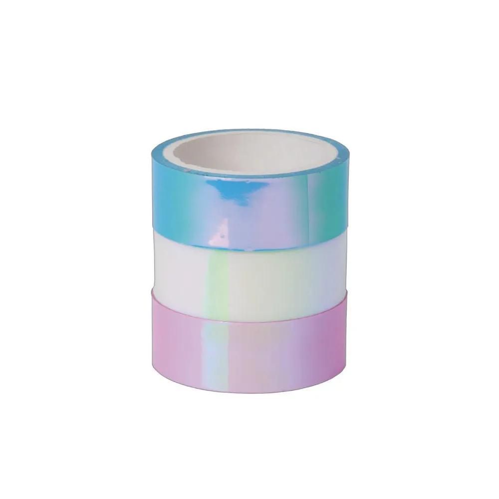 Washi Tape TILIBRA Holográfica 15mm x 5mm 3un.
