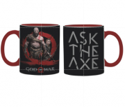 Caneca God of War Licenciada - 300 ml
