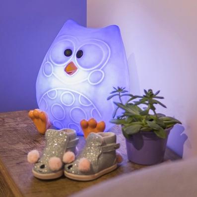 Abajur Infantil Luminária Bubu Licenciada (Bubu e as Corujinhas)