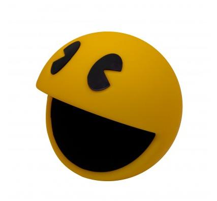 Abajur Infantil Luminária de Mesa Abajur Pac-Man Amarela - Licenciada