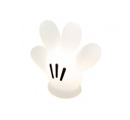 Abajur Infantil Luminária de Mesa Luva Mickey Licenciada