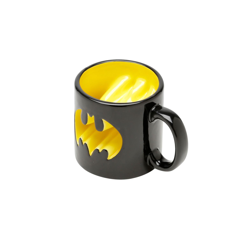 Caneca Batman Logo Vazada - 320 ml