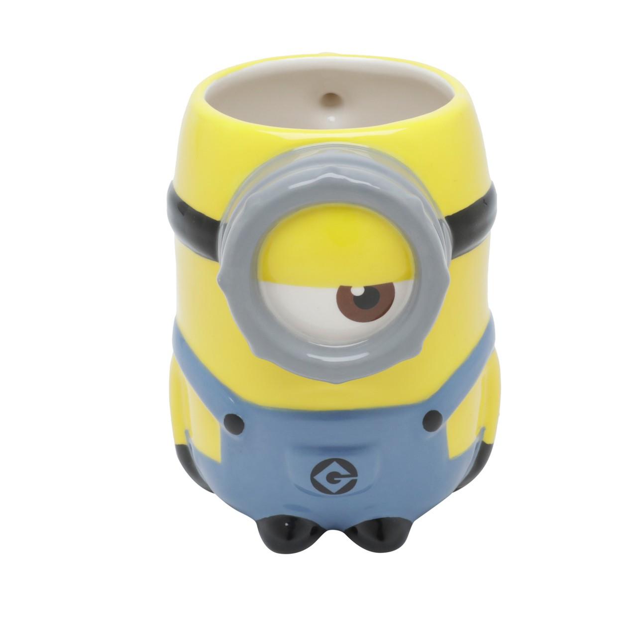 Caneca Minions 3D Licenciada - 400 ml