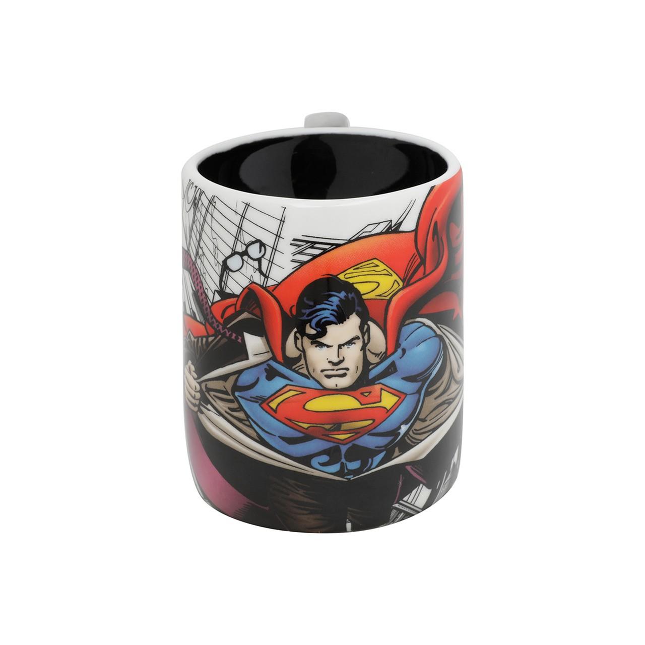 Caneca Soco Inglês Superman 380 ml - Licenciada