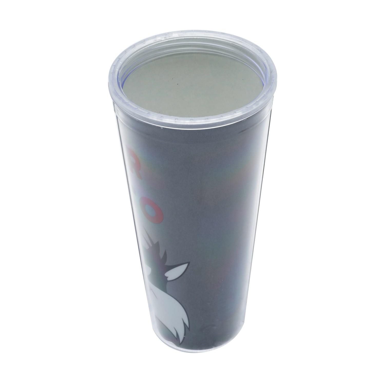 Copo Canudo Frajola com Glitter - 600 ml