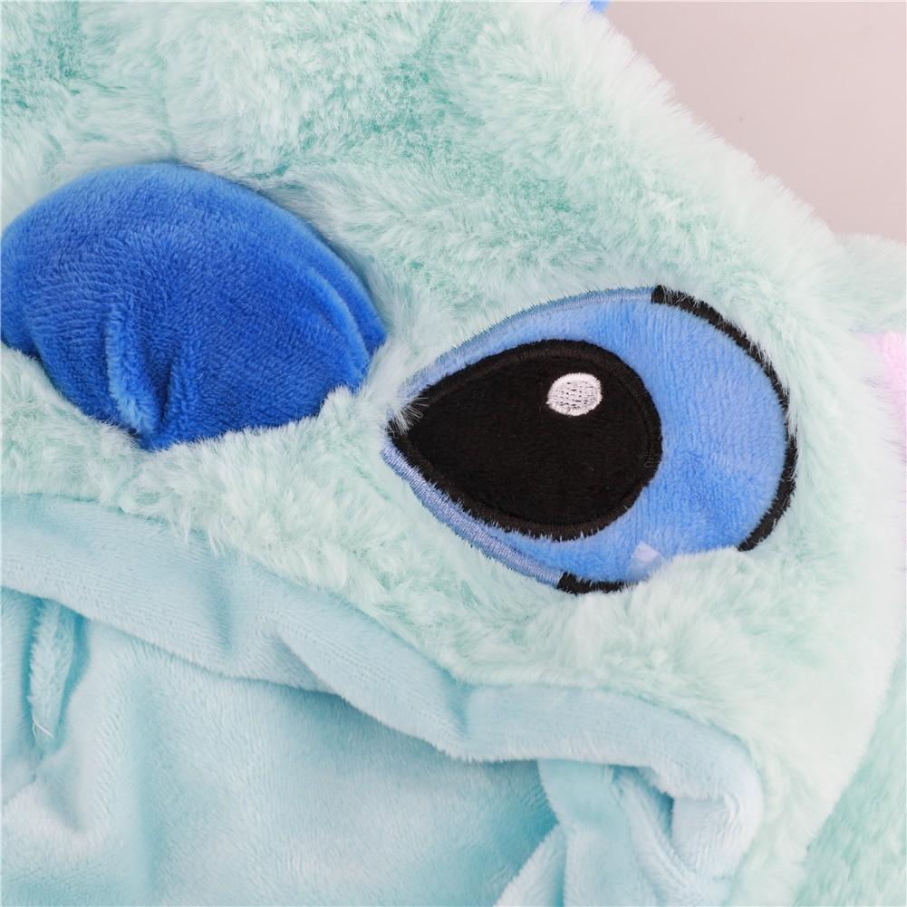Gorro Touca de Pelúcia Stitch Brilhante