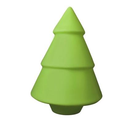 Luminária Abajur Árvore de Natal com Adesivos