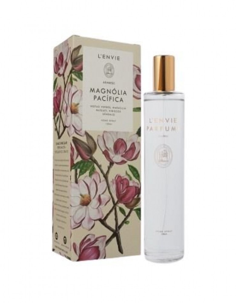 HOME SPRAY LENVIE MAGNÓLIA PACÍFICA SÂNDALO 100 ML