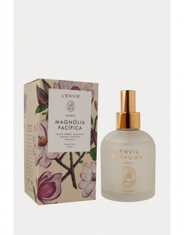 HOME SPRAY LENVIE MAGNÓLIA PACÍFICA SÂNDALO 200 ML
