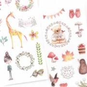 Adesivos Bloom - 6 cartelas