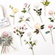 Adesivos Floral Rosa