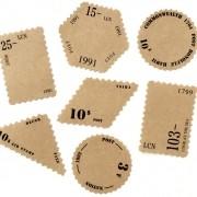 Adesivos Kraft Stamp