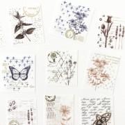 Adesivos Plantas com foil